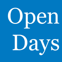Book your place on one of our Open Days