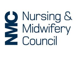 The University of Bolton is accredited by Nursing and Midwifery Council (NMC) logo