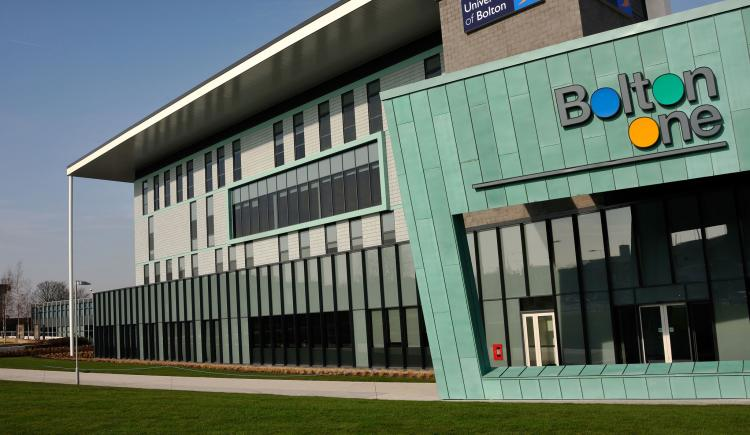 An external view of the Bolton One Sports Facilities at the University of Bolton3