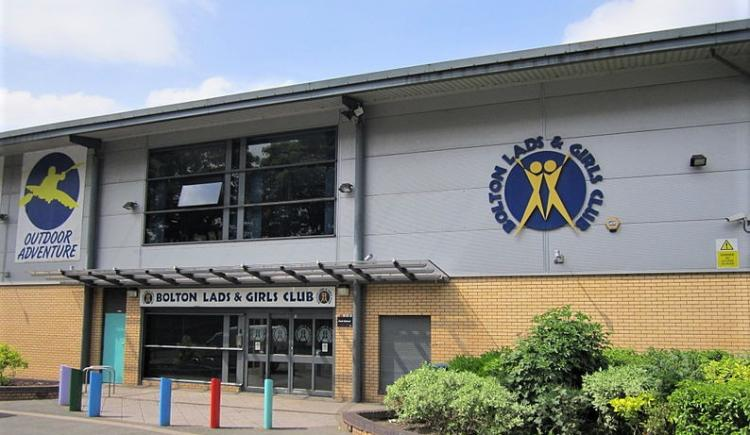 Bolton Lads and girls club exterior