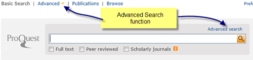 Accessing-ProQuest-Advanced-Search